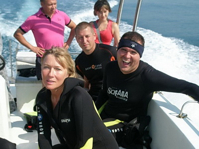 Погружения с аквалангом на Черном море