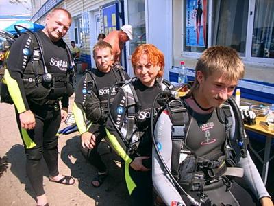 Дайвинг центр Аква-Глобус на Черном море