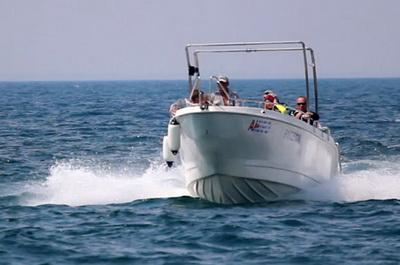 Морские прогулки на скоростном катере