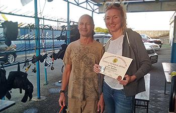 Поздравляем Татьяну Бочкову с OWD IANTD!