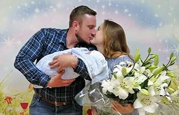 Поздравляем наших молодоженов Светочку и Олега с рождением первенца!