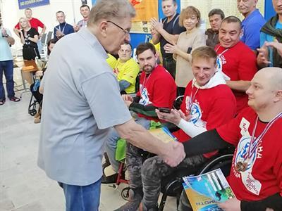 Соревнования по парадайвингу в Воронеже
