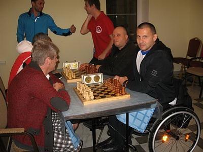 Анапская команда на спартакиаде инвалидов Кубани