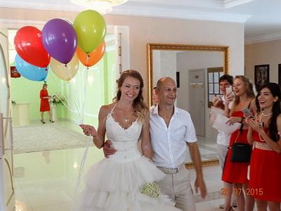 Свадьба дайверов в Анапе